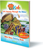 Image for Great Adventure Kids Bible Story Coloring Book